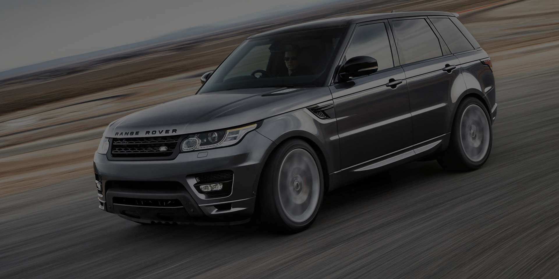 Gray Car Range Rover